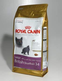Granule Royal Canin Breed Feline British Shorthair 2kg