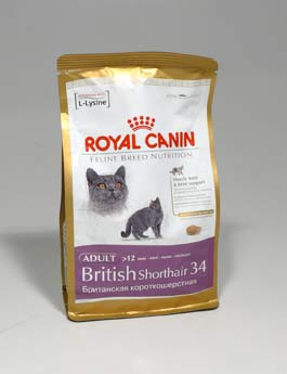 Granule Royal Canin Breed Feline British Shorthair 400g