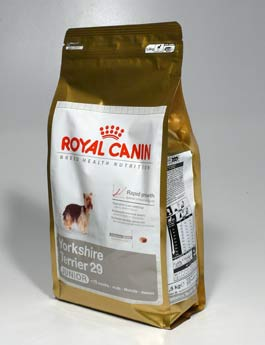 Granule Royal Canin Breed Yorkshire junior 1,5kg