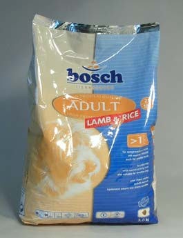 Granule Bosch Dog Adult Lamb&Rice 3kg