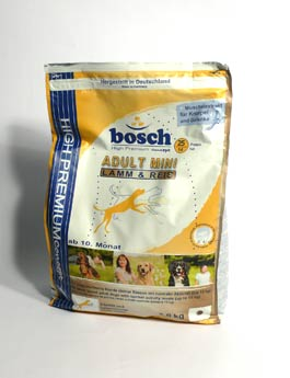 Granule Bosch Dog Adult Mini Lamb&Rice 3kg