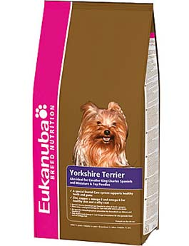Granule Eukanuba Dog Breed N. Yorkshire Terrier 2kg
