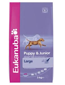 Granule Eukanuba Dog Puppy&Junior Large 15kg