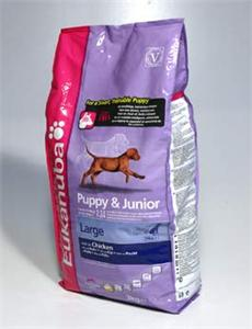 Granule Eukanuba Dog Puppy&Junior Large 3kg