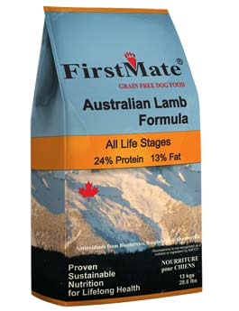 Granule First Mate Dog Australian Lamb 2,3kg