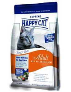 Granule Happy Cat Supr.Adult Fit&Well Atlantik Lachs Fish 4kg