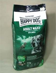 Granule Happy Dog Supreme Adult Fit&Well Maxi 15kg