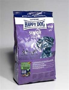 Granule Happy Dog Supreme Adult Fit&Well Senior 1kg