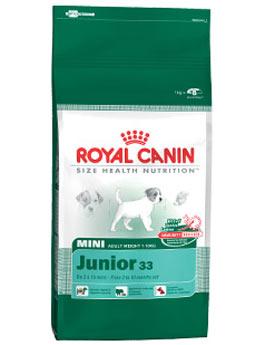 Granule Royal Canin kom. Mini Junior 800g