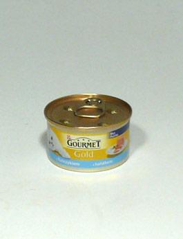 Konzerva Gourmet Gold  kočka jemná paštika tuňák 85g