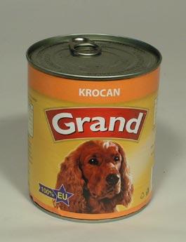 Konzerva Grand  pes krocaní 850g