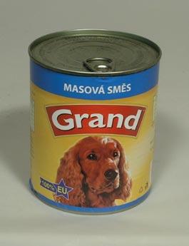 Konzerva Grand  pes mas.směs 850g