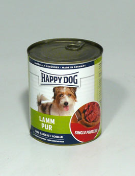 Konzerva Happy Dog  Lamm Pur Jehněčí 800g