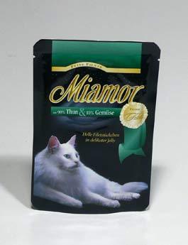 Konzerva Miamor Cat Filet kapsa tuňák+zelen. 100g