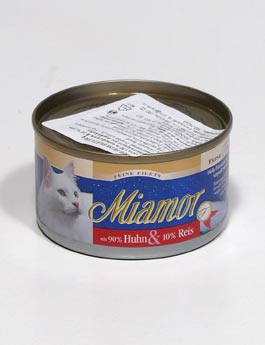 Konzerva Miamor Cat Filet  kuře+rýže 100g