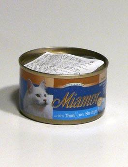 Konzerva Miamor Cat Filet  tuňák+krevety 100g