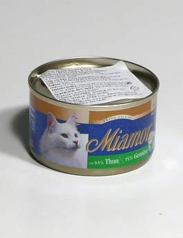 Konzerva Miamor Cat Filet tuňák+zelenina100g