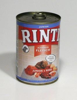 Konzerva Rinti Dog Junior  hovězí 400g