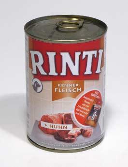 Konzerva Rinti Dog  kuře 400g