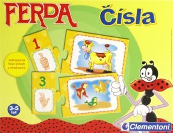 Hra Albi Ferda Čísla 4+