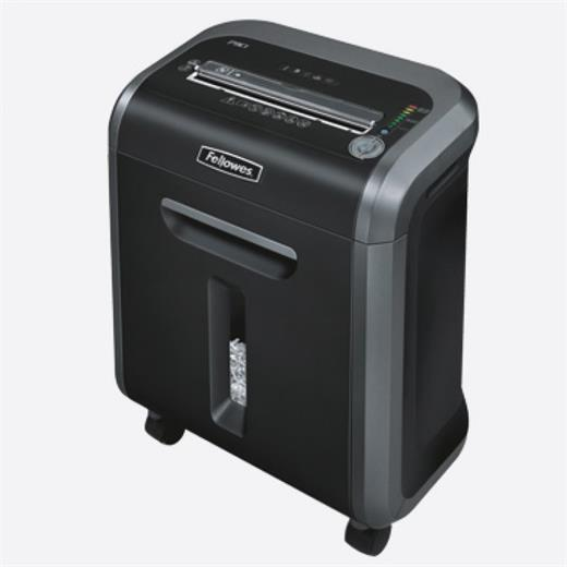 Skartovač Fellowes 79Ci DIN 3, Cross cut 3,9×38mm, 14 listů, 23l, CD+DVD, Credit Card, NBÚ