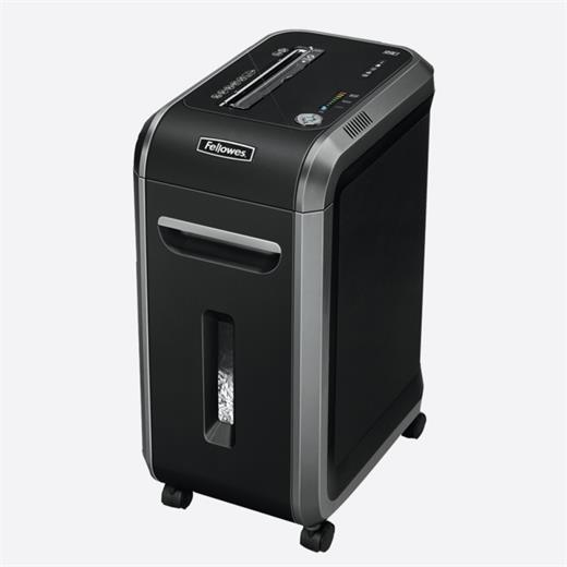 Skartovač Fellowes 99Ci DIN 3, Cross cut 3,9×38mm, 17 listů, 34l,CD+DVD, Credit Card, NBÚ