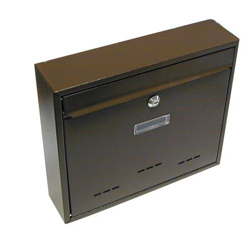 Schránka poštovná G21 RADIM veľká 310x360x90mm hnedá