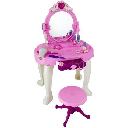 Hračka G21 Kozmetický stolík BEAUTIFUL s fénom