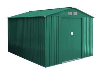 Záhradný domček G21 GAH 730 - 251 x 291 cm, zelený