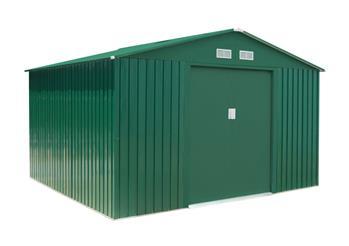 Záhradný domček G21 GAH 905 - 311 x 291 cm, zelený