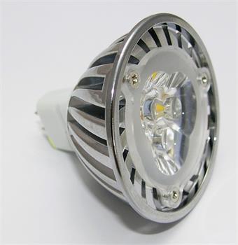 Žiarovka G21 LED G5.3/MR16 3SMD, 12V, 3W, 240lm, teplá bílá