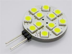 Žiarovka G21 LED G4-12SMD 12V, 2.1W, 150lm, biela