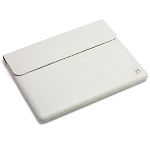 Púzdro Dicota Leather Sleeve for iPad bílý