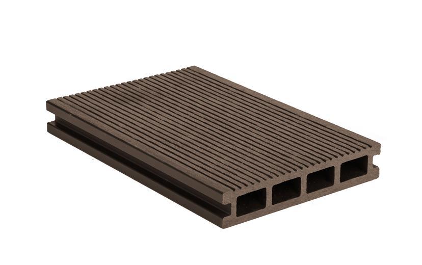 Terasová doska G21 2,5*14*400cm, Indický teak mat. WPC