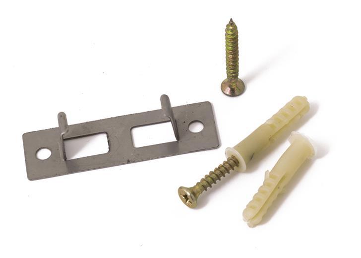 Príchytka G21 nosníku 4x3 terasových prken k podkladu, ocelová