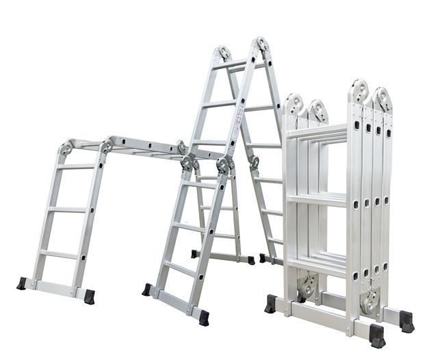 Hliníkové štafle G21 GA-SZ-4x3-3,7M multifunkčné