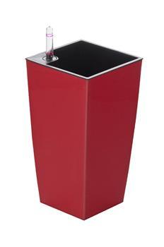 Samozavlažovací kvetináč G21 Linea mini červený 26 cm