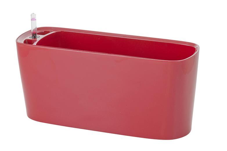 Samozavlažovací kvetináč G21 Combi mini červený 40 cm