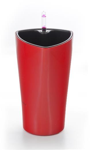 Samozavlažovací kvetináč G21 Trio mini červený 26 cm