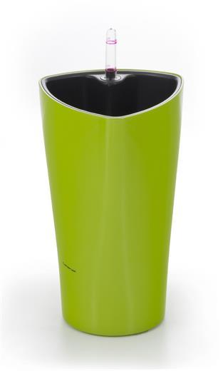 Samozavlažovací kvetináč G21 Trio mini zelený 26 cm
