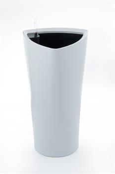 Samozavlažovací kvetináč G21 Trio biely 56.5cm