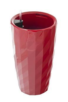 Samozavlažovací kvetináč G21 Diamant červený 57 cm