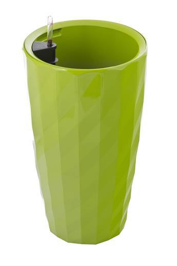 Samozavlažovací kvetináč G21 Diamant zelený 57 cm