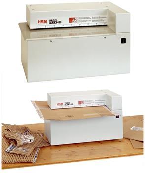 Skartovač HSM ProfiPack 400 na výrobu výplňového materiálu, 1 kartón, max. výška 10mm