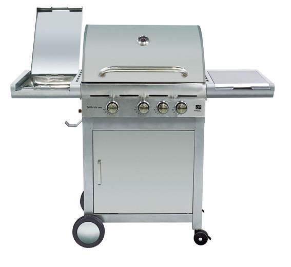 Plynový gril G21 California BBQ Premium line Premium line, 4 horáky + redukčný ventil zadarmo