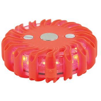 Svietidlo HQ nouzové výstražné světlo , vysocesvítivé LED, 9 funkcí, maják, odolné počasí