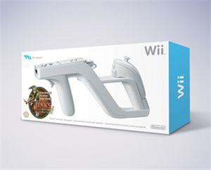 Joystick Nintendo Wii Zapper + Link's Crossbow Training
