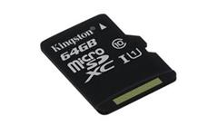 Pamäťová karta Kingston microSDXC CL10 UHS-I 64GB, 80R