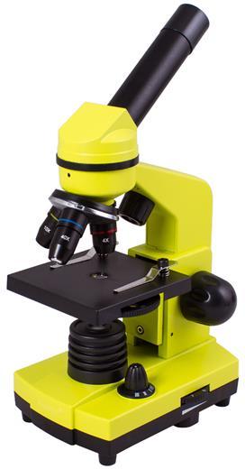 Mikroskop Levenhuk Rainbow 2L Lime