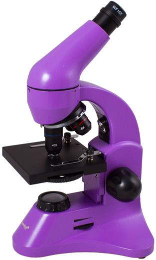 Mikroskop Levenhuk Rainbow 50L PLUS Amethyst
